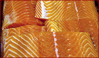 Falmouth Fish North Atlantic Salmon Fillet Shipped From